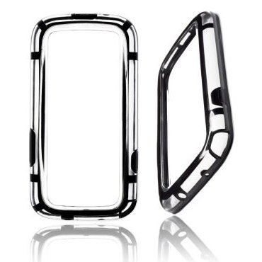 Bumper pre Samsung Galaxy S3 - i9300 a S3 Neo - i9301 | BlackTransparent