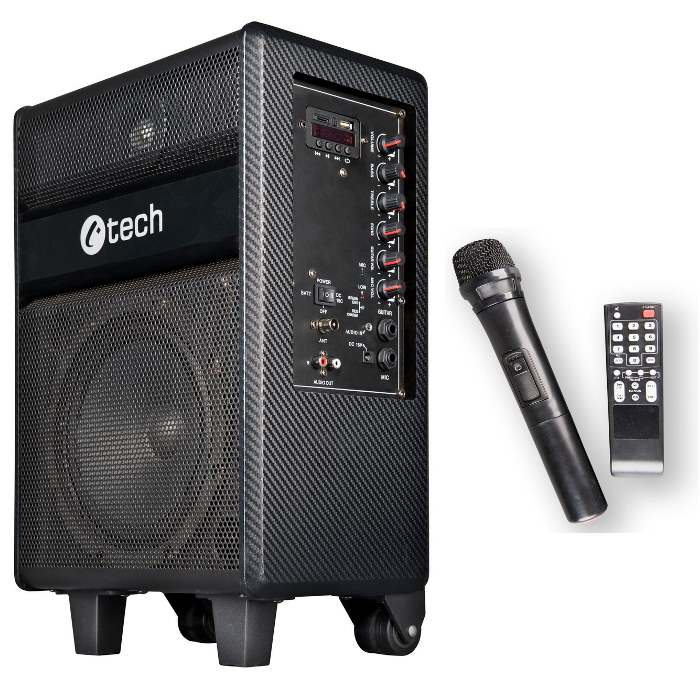 C-TECH Impressio Cappella, Bluetooth reproduktor ALL in ONE, 100W