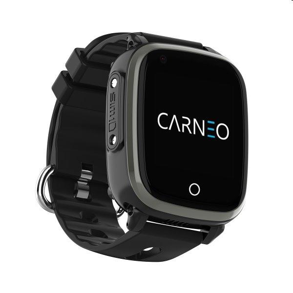 Carneo GUARDKID+ 4G Smart hodinky pre deti s GPS, čierne