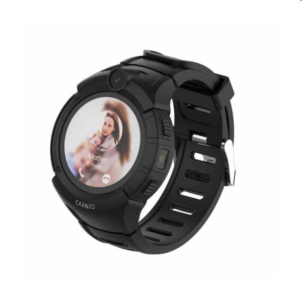 Carneo GUARDKID+ Smart hodinky pre deti s GPS, čierne