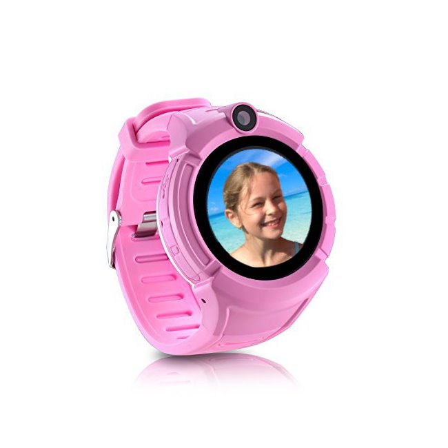 Carneo GUARDKID+ - Smart hodinky s GPS pre deti, Pink