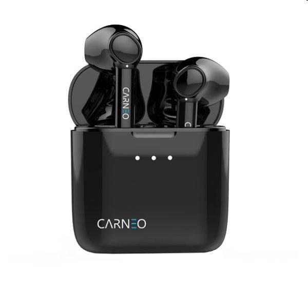 Carneo S8 bluetooth slúchadlá do uší, čierne