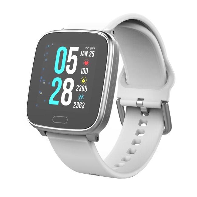 Carneo SlimFit+ smart hodinky, strieborné