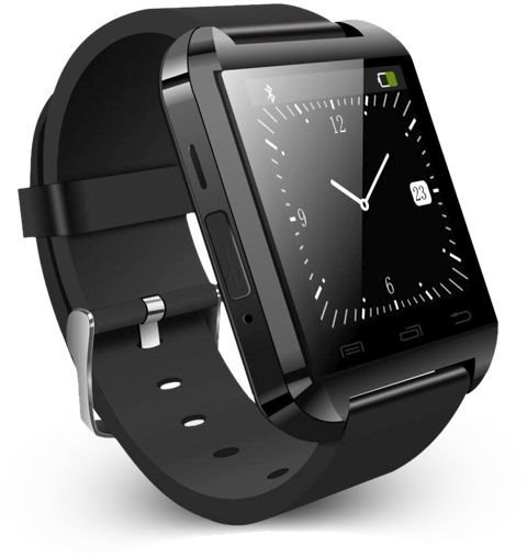 Carneo U8 Smart Watch - multifunkčne hodinky, Black