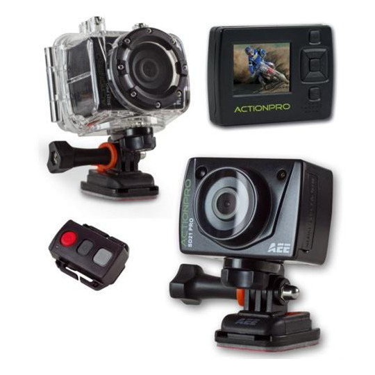 Cel-tec ActionPro SD21 Pro, 1080p, 60fps, vodotesn� 60m, LCD