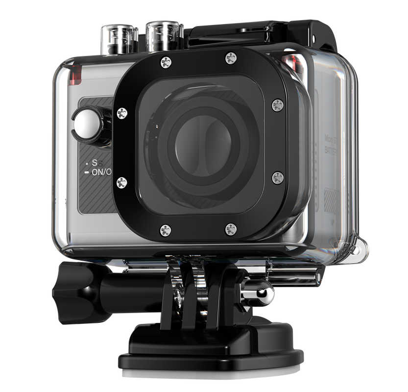 Cel-tec ActionPro X7, 1080p, 60fps, vodotesn� 60m, LCD, WiFi