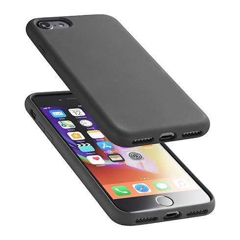 CellularLine SENSATION ochranný silikónový kryt pre Apple iPhone 6/7/8/SE (2020), čierny SENSATIONIPH747K