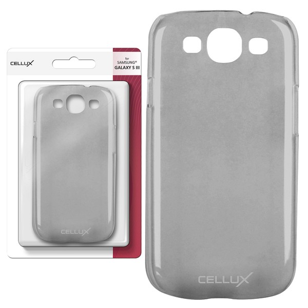 CELLUX Back Case - Samsung Galaxy S3, frosted-titan