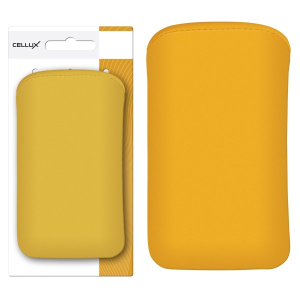 CELLUX MICROFIBRE POUCH - XL, YELLOW