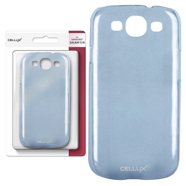 CELUX Back Case - Samsung Galaxy S3, frosted-blue