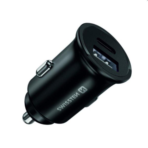 CL adaptér Swissten Power Delivery20W iPhone 12, čierny 20119100