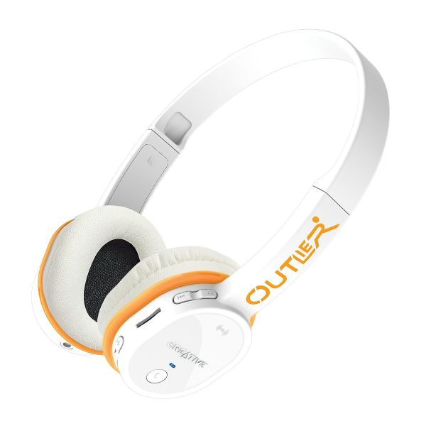 Creative Outlier Bluetooth Headphones, white