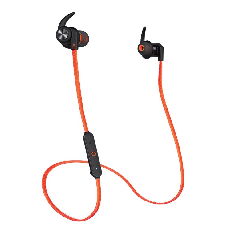Creative Outlier Sports Bluetooth Headphones, Orange