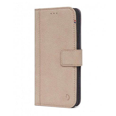 Decoded puzdro Leather Wallet pre iPhone XS/X - Sahara D7IPOXWC5NL
