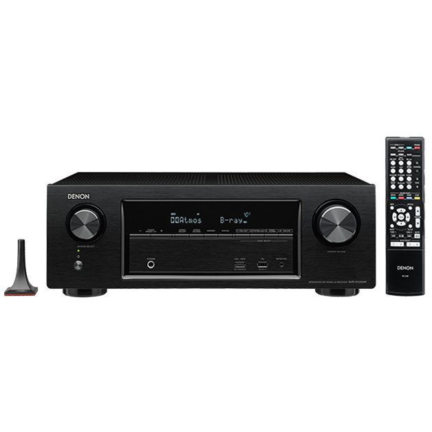Denon AVR-X1300W - 7.2 Channel AV Receiver, Black