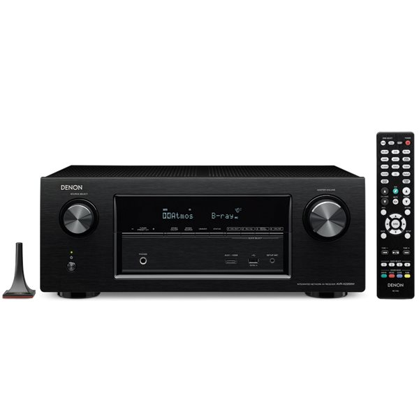 Denon AVR-X2200W - 7.1 Channel AV Receiver, Black