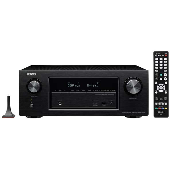 Denon AVR-X2300W - 7.2 Channel AV Receiver, Black