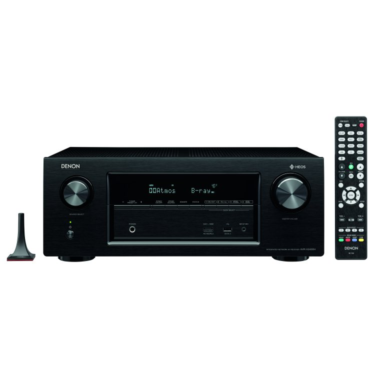 Denon AVR-X2400H - 7.2 Channel AV Receiver, Black
