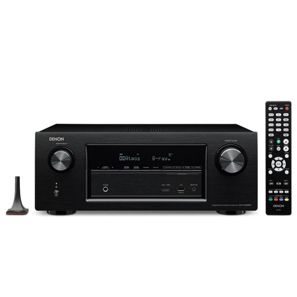Denon AVR-X3200W - 7.2 Channel AV Receiver, Black