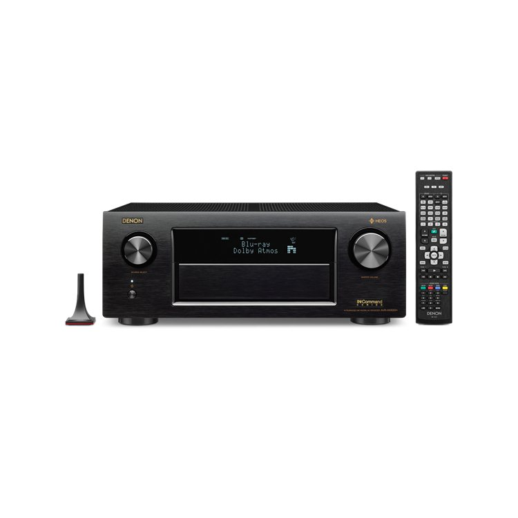 Denon AVR-X4300H - 9.2 Channel AV Receiver, Black