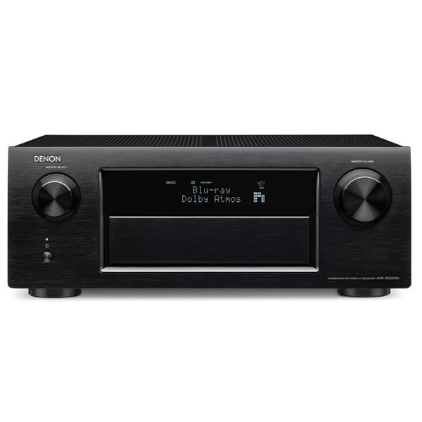 Denon AVR-X5200W - 11.2 Channel AV Receiver, Black