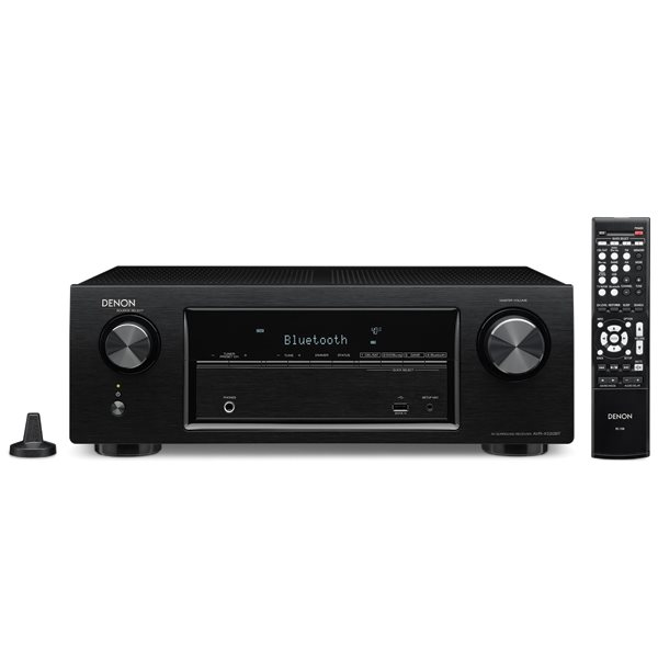 Denon AVR-X520BT - 5.1 Channel AV Receiver, Black