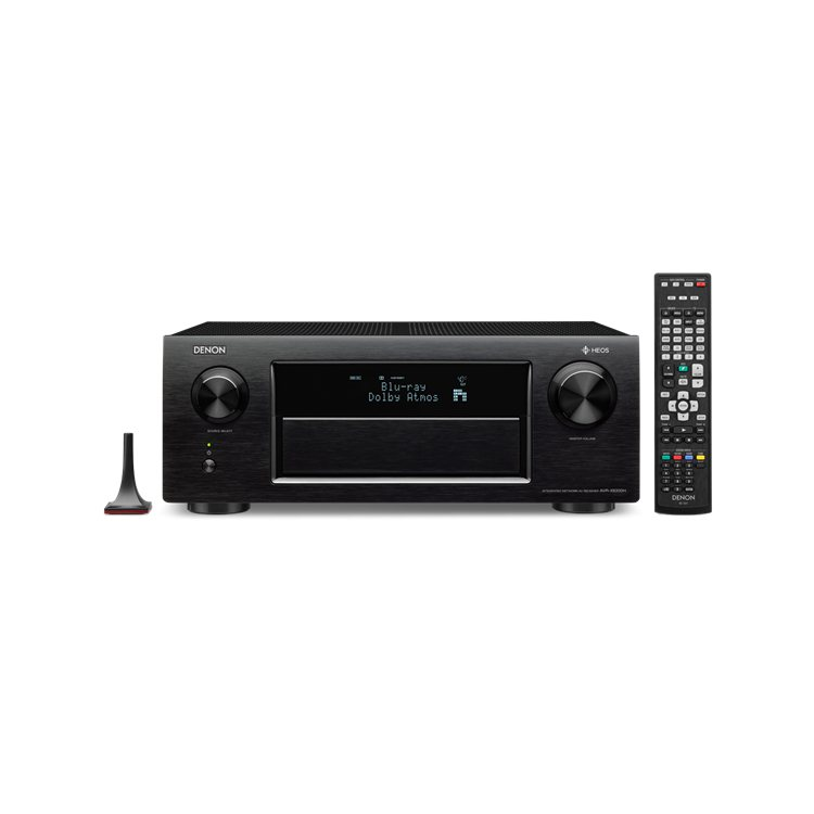 Denon AVR-X6300H - 9.2 Channel AV Receiver, Black