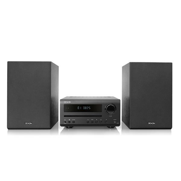 Denon D-T1, Hi-Fi CD mini systém, black
