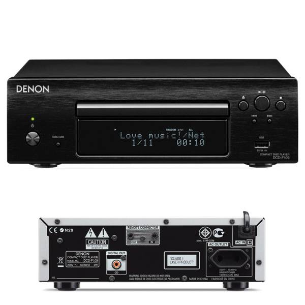 Denon DCD-F109, CD-prehr�va�, Black