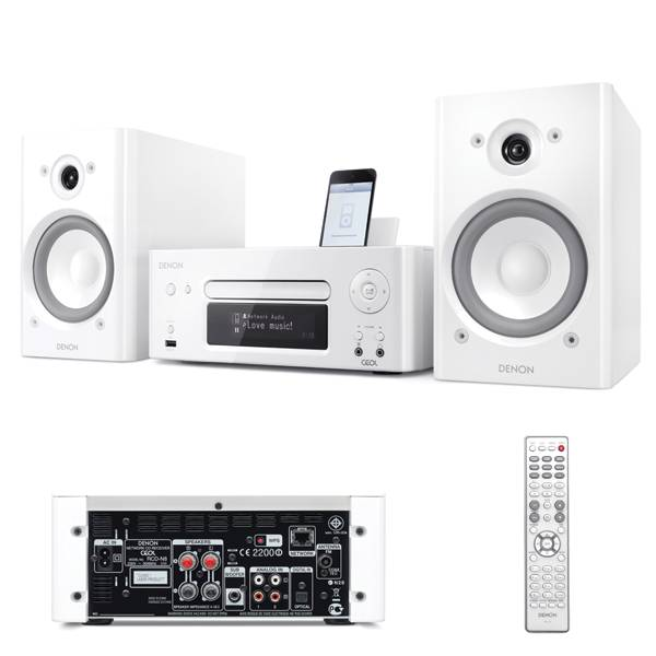 Denon new CEOL, dom�ci audio syst�m, White