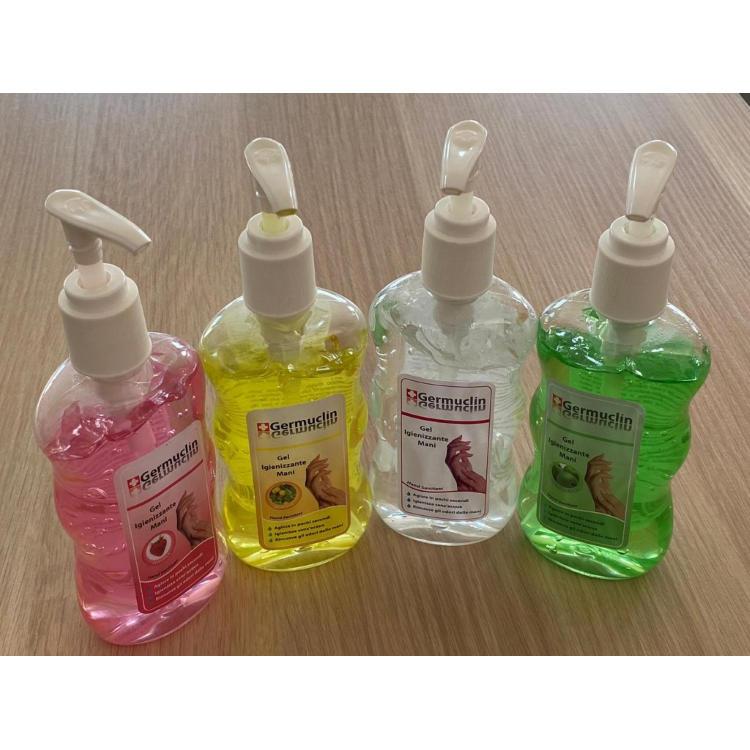 Dezinfekčný čistiaci gél na ruky s dávkovačom - 240ml, jahoda