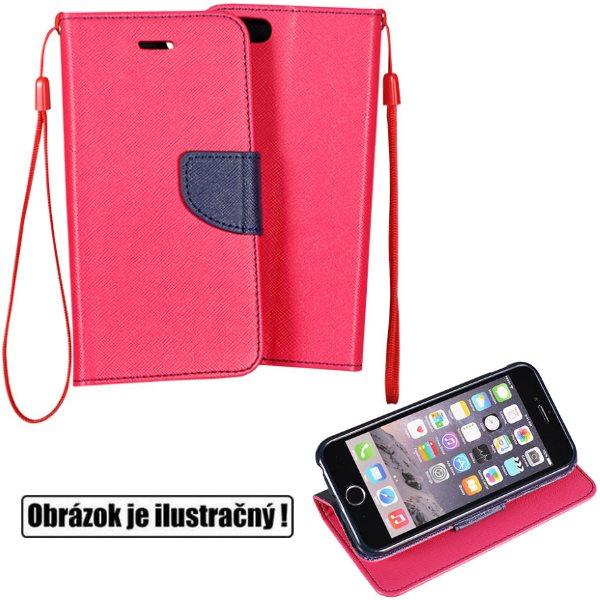 Diárové puzdro Fancy pre Huawei P9 Lite, PinkBlue PAT-361885