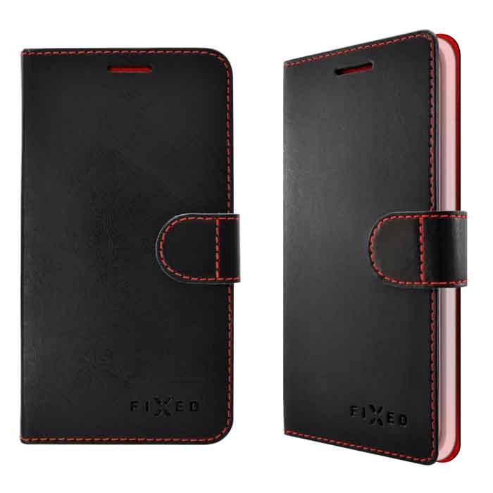 Diárové puzdro Fixed Fit pre Apple iPhone 7 Plus, Black FIXFIT-101-BK