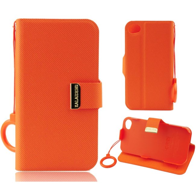 Di�rov� puzdro Kalaideng UNIQUE pre Samsung Galaxy S3 Mini - i8190, Orange