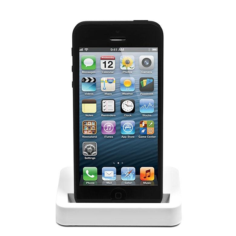 Dokovacia stanica Extreme X Style DUO pre Apple iPhone 5 a iPhone 5S, White