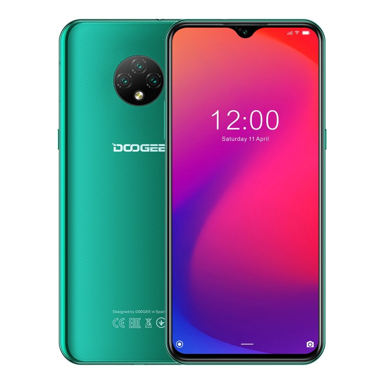 Doogee X95, Dual SIM, Emerald Green - SK distribúcia