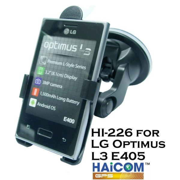 Dr�iak do auta Haicom pre LG Optimus L3 E400