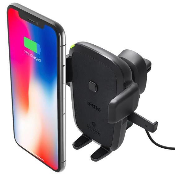 Držiak do auta iOttie Easy One Touch 4 Qi Wireless do ventilácie pre Váš smartfón HLCRIO135AM