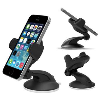Dr�iak do auta iOTTIE FLEX 3 pre Apple iPhone 4 a 4S, Black