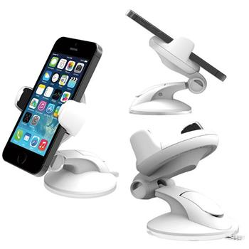 Dr�iak do auta iOTTIE FLEX 3 pre Apple iPhone 4 a 4S, White