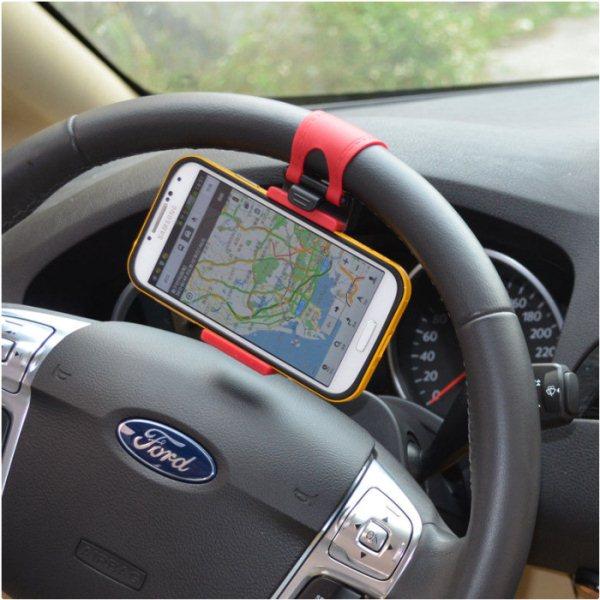 Držiak do auta na volant pre Samsung Galaxy S5 Mini - G800