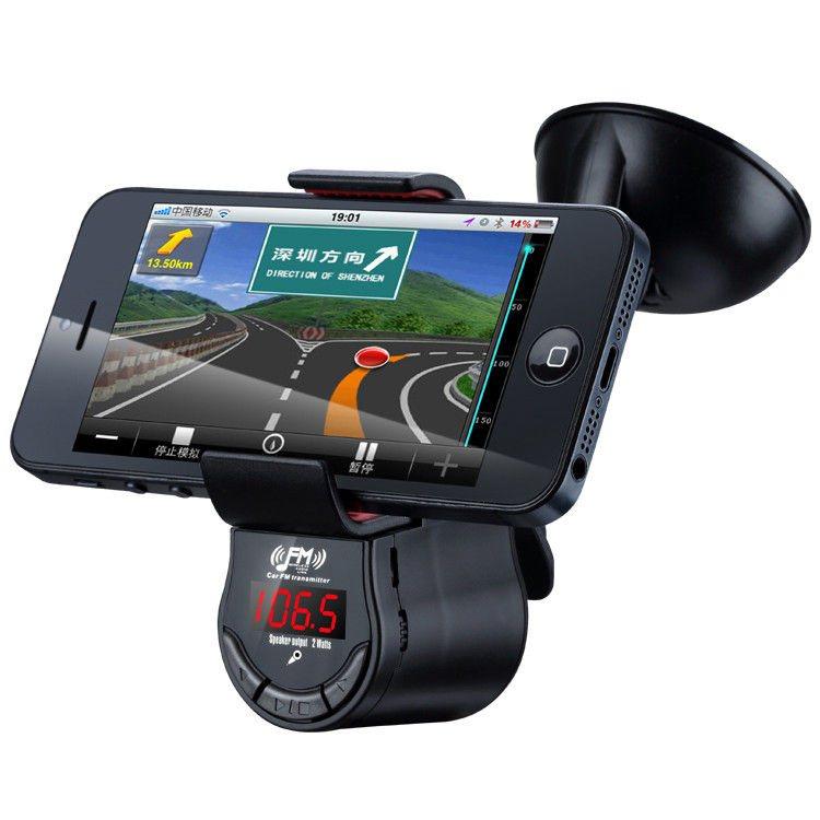 Držiak do auta s FM transmitterom pre Samsung Galaxy S5 Mini - G800