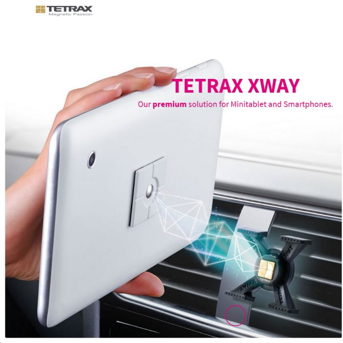 Dr�iak do auta Tetrax XWay pre BlackBerry Q5 - Qwertz