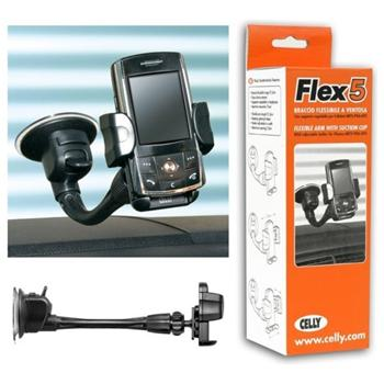 Dr�iak do auta univerz�lny Celly CR-FLEX5