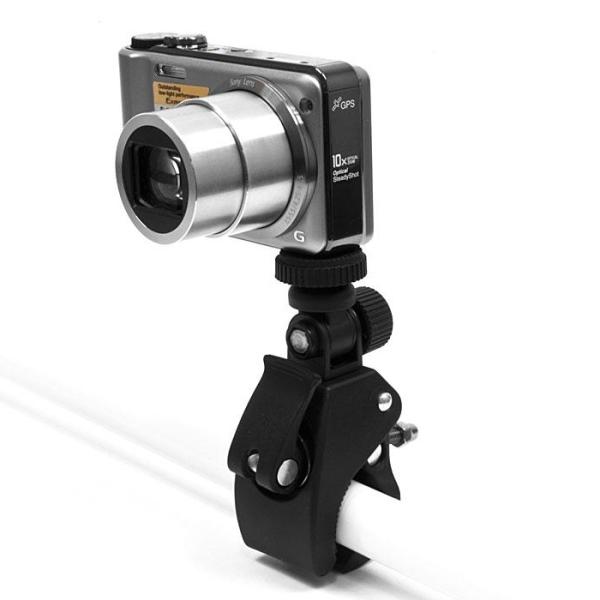 Držiak na bicykel alebo motocykel pre Vašu kameru alebo fotoaparát