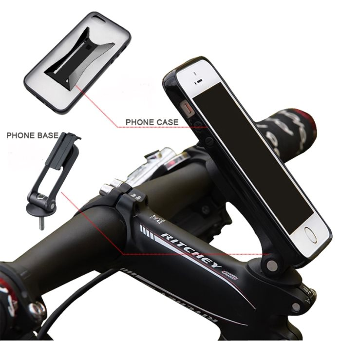 Držiak na bicykel BestMount Premium pre Apple iPhone 6, Apple iPhone 6S