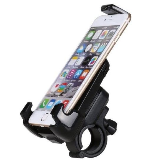 Držiak na bicykel/motorku BestMount Active pre Váš smartfón, Black