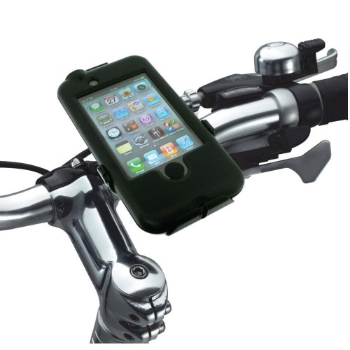 Dr�iak na bicykel vodeodoln� Tigra Bike Mount pre Apple iPhone 4 a 4S