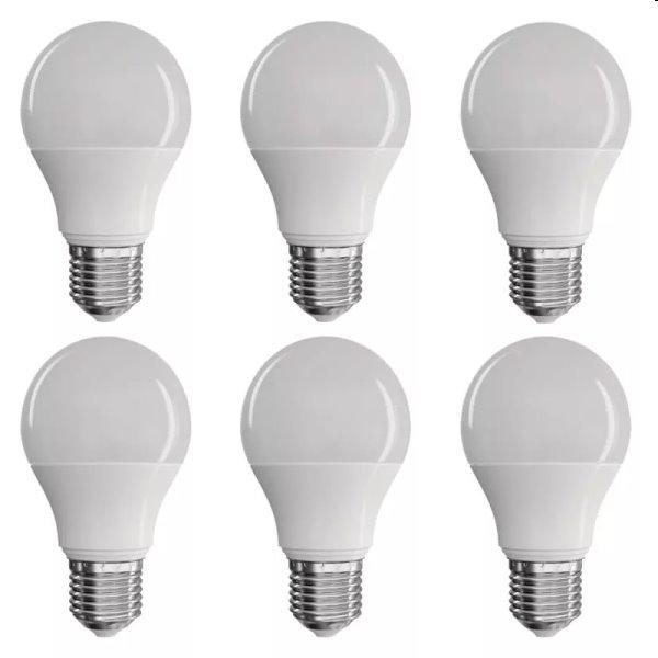 EMOS LED Žiarovka Classic A60 9W E27, teplá biela - 6ks