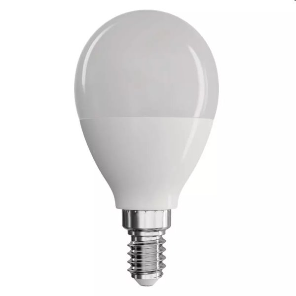 EMOS LED Žiarovka Classic Globe 8W E14, teplá biela